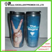 Advertising Logo Custom Plastic Cup (EP-MB1026)