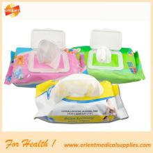Einweg-Allergen-freie Baby-Feuchttücher