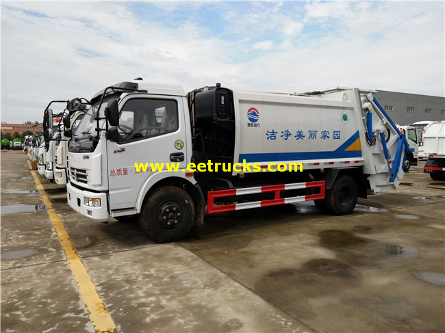 6cbm Compression Refuse Trucks