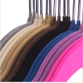 Flocked Suit Hanger with B Notches Clothes Hangers