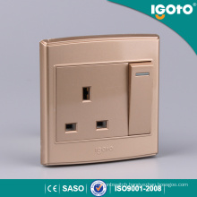 1gang 13A Switched Socket Electric Switch and Socket