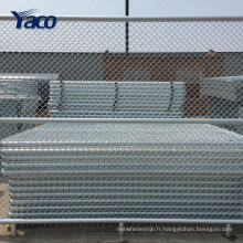Clôture de maillon de chaîne enduite de plastique de 5 pieds