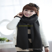 2016 Fashion Girls or Boys Unsex Winter Warm Computer Laine acrylique New Warp Knitting Scarf Factory