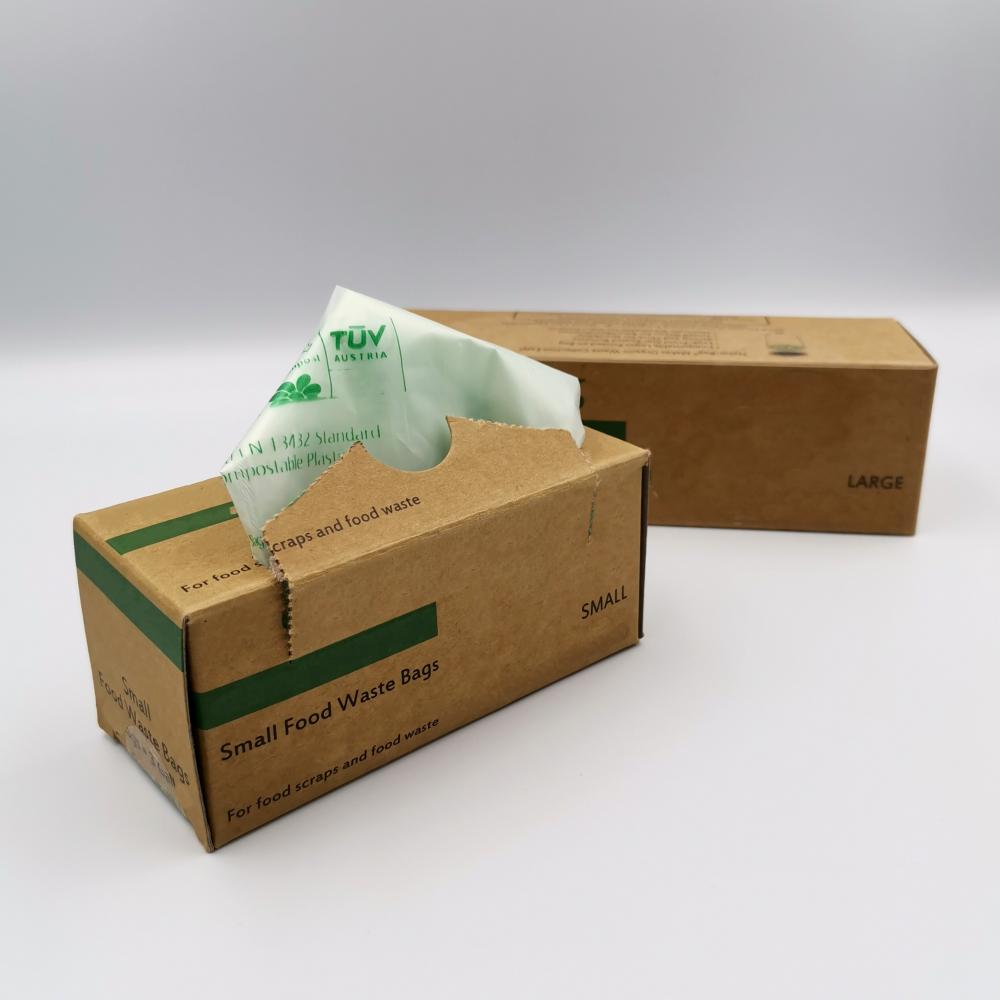 PLA Compostable Leak-proof Food Waste Bags