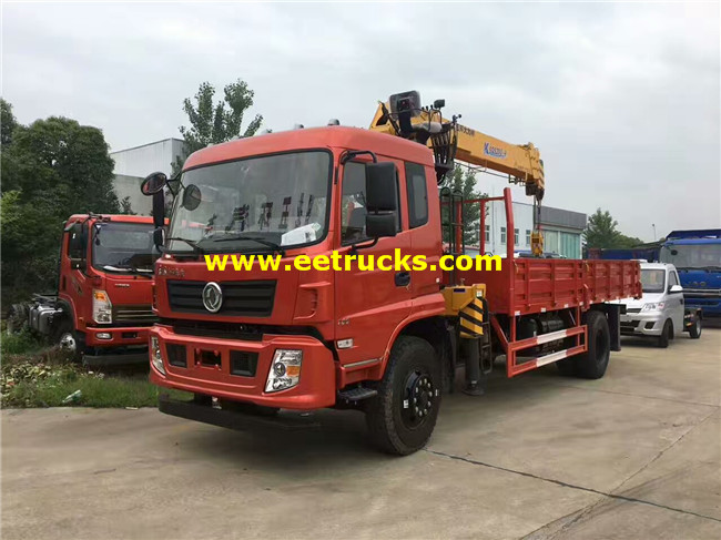4x2 6ton Truck Mounted Cranes