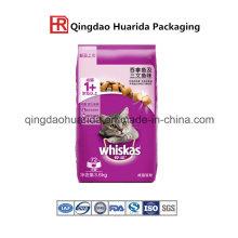 Тяжелый квад-уплотнения долг корм для собак Упаковывая мешок с застежкой-молнией
