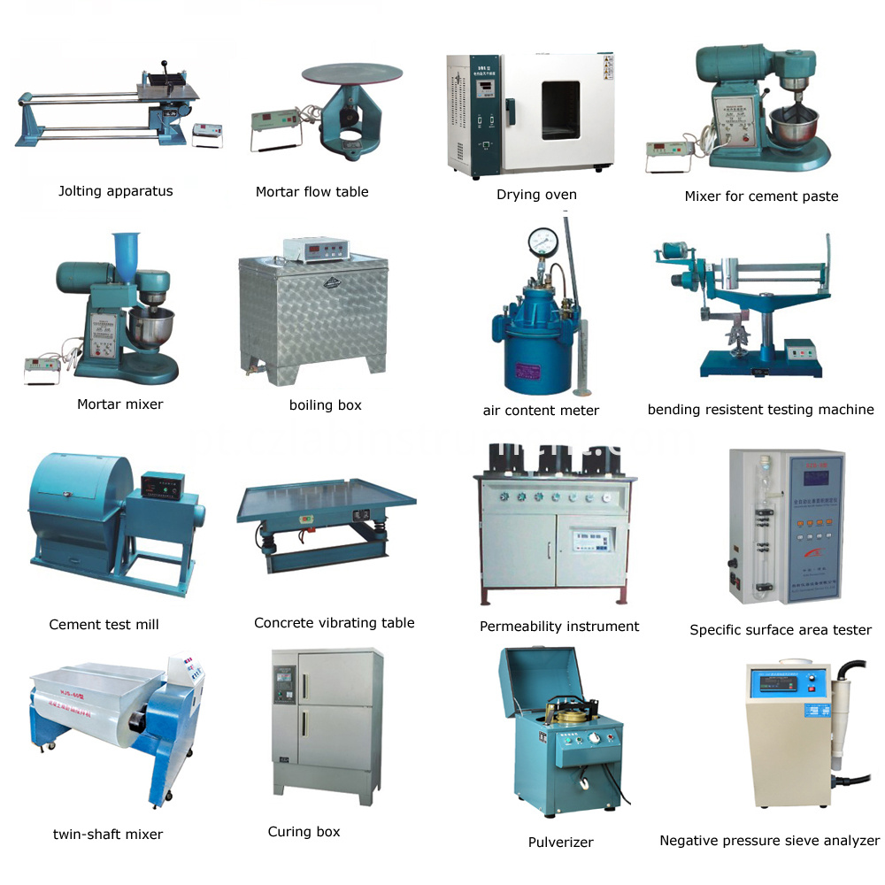 Laboratory Equipment For Cement Concrete