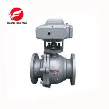 0-10v modulating 24v 220v 380v DN50 DN65 CTB-010 100nm motorized control valve