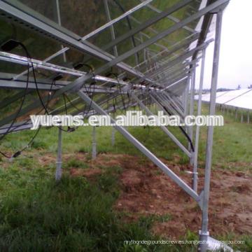 Soportes de montaje de panel fotovoltaico solar Producto de energía solar