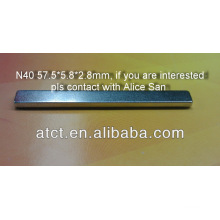 Ndfeb magnetic strip/strong magnetic strips