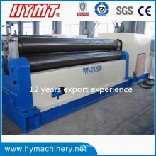 W11-12X2500 Mechanische Art 3 Rollen-Kohlenstoffstahl-Plattenbiegemaschine