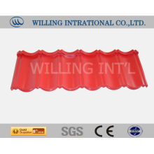 European standard high quality stone coated steel roofing tile
