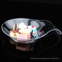 Tableware Plastic Disk Disposable Saucer Comma Shaped Dish