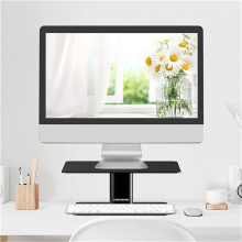 Sit Stand Monitor Riser with Storage