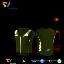 wholesale fluorescent yellow reflective breathable work shirts