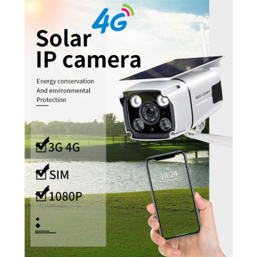 Videocamera IP di sicurezza 1080P Solar Power 4G