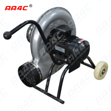 AA4C car exhaust extracting system auto vehicle exhaust movable dolly with fans for car gas sucking