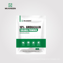 Veterinary Antibiotic 10% Amoxicillin Soluble Powder animal medicine