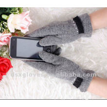 Guantes de cachemira iphone touch screen