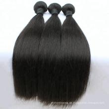 Natürliche Farbe 100 Prozent Menschenhaar Günstige Haare, hohe Qualität Keine chemische verarbeitet