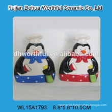 Ceramic lovely penguin ceramic sanitary napkin holder