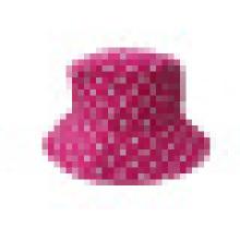 Eimer Hut mit gepunktetem Stoff (BT041)