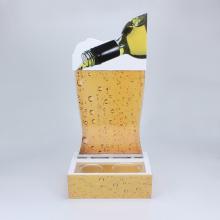 Customized-made acrylic wine display for bar