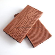 3D Embossing Classic Wood Grain Surface Weathering Resistant Wood Plastic Composite WPC Floor Decking
