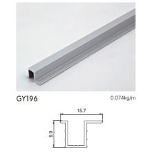 Eloxierter Aluminiumrahmen für Garderobe
