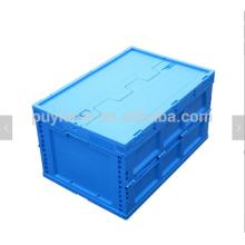 Caja de palets de volumen sólido de plástico sólido
