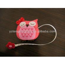 Kids small toys with tapeline plush owl toys
