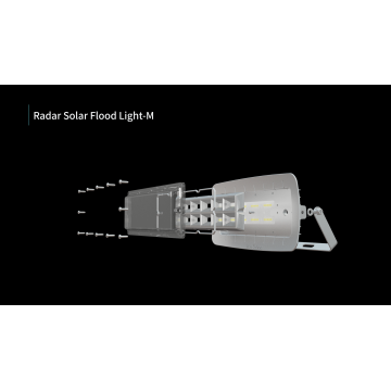 Radar Outdoor Solar LED hohe Helligkeit Flutlichter