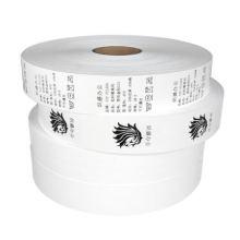 NX277 wholesale blank white nylon taffeta ribbon for garment washable care labels
