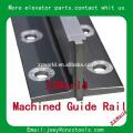 Guia do elevador guia tipo t-rail / peças do elevador tipo trilhos de guia de elevador a frio / T70 / B
