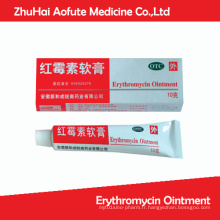 Ointmentation de l'érythromycine OTC Onguent médiéval