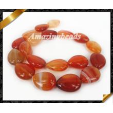 Gemstone ювелирные изделия, Агат Горячие продажи Полосатый Кружева Gemstone бусины (AG011)