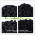 O hidróxido de potássio impregnou o carbono ativado pelota de carvão para a remoção do HCL do cloreto de hidrogênio