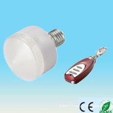 Fabrication en Chine vente chaude RGB 5-6w e27 ip33 led stick avec télécommande