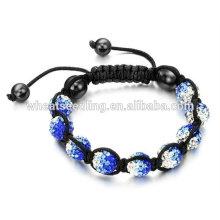 Bracelets en cristal de mode Bracelets personnalisés Shamballa