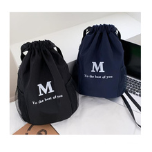 Drawstring backpack waterproof gym bag Training sports bag easy carry travelling backpack