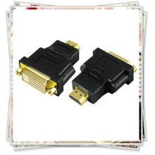 DVI F женский TO HDMI M мужской GOLD 1080P MAC MAC ADAPTER CONVERTER HD