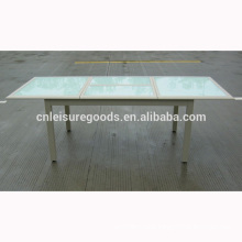 Aluminium quality fashion outdoor extention table