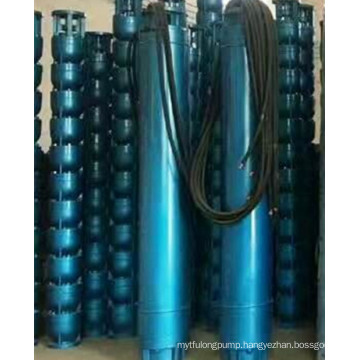 Multistage deep well centrifugal pump