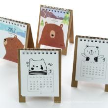 Fancy Design Vollfarb-Desktop-Kalender
