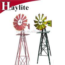 Moinho de vento da decoração do metal do Pinwheel para o jardim