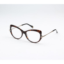 Trendy double color acetate spectacle frame online 2018 acetate spectacle frame