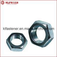 Aço Inoxidável Hex Porca Fina DIN439