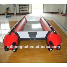 CE HH-P410 alta velocidade barco inflável catamarã