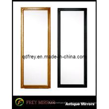Espejo enmarcado de madera de moda caliente del piso de la venta
