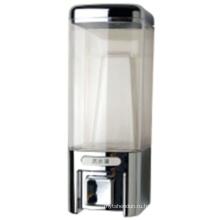Элегантный 480мл Серебряный пластичный жидкостный распределитель мыла гостиницы